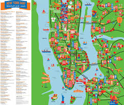 tourist map of new york city  arabcookingme