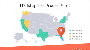 Us Map Editable In Powerpoint Editable Us Map For Powerpoint Templateswise Com