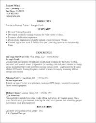 Personal Trainer Resume Fascinating Trainer Resume Sample Trainer Resume Sample Personal Trainer Resume