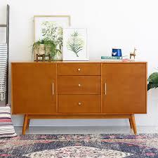 mid century tv. Contemporary Mid Walker Edison Furniture Company 60 In MidCentury Modern Wood TV Console   Acorn On Mid Century Tv L