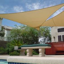 Triangle Shaped Patio Covers Sun Shade Canopy Sail Shades For Patios