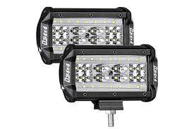 Truck Work Lights Best Led Flood Work Lights For Truck Amazon Com