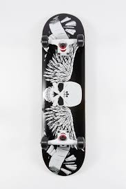 "Death Valley <b>Skull</b> & <b>Wings</b> Skateboard 8"" – West49"