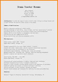 7 Montessori Teacher Resume Sample New Hope Stream Wood