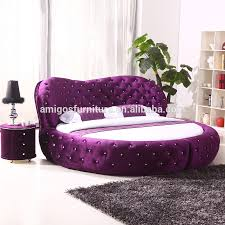 2015 Luxury Fabric Round Bed Circle Bed Frame On Sale - Buy Latest Double  Bed Designs,Latest Bed Designs,Wooden Bed Designs Product on Alibaba.com