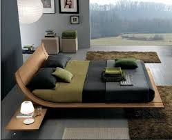 simple unique bedroom furniture ideas with nice flat platform bed