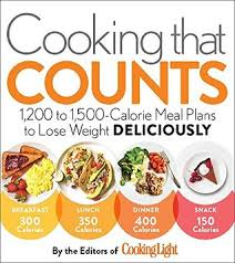 Food Calorie Book Book Review Cooking That Counts By The Editors Of Cooking Light I