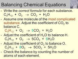 6 balancing chemical equations