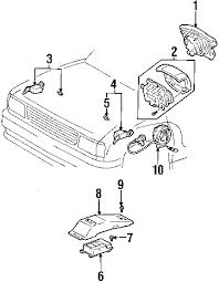 parts com® toyota sensor assy air bag partnumber 8917034021 1995 toyota t100 sr5 v6 3 4 liter gas air bag components