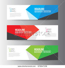 banner design template abstract geometric vector web banner design stock vector 679947136