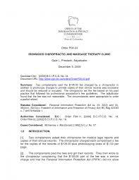 Resume Licensed Massage Therapist Cover Letter Best Inspiration