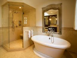 bathroom designs with freestanding tubs. Ideas Trendy Small Master Bathroom Remodel With Freestanding Bathtubs Including Polished Nickel Clawfoot Tub Faucet Designs Tubs