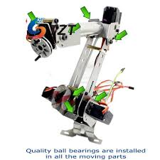 Online Shop DIY 6-Axis <b>Mechanical</b> Robotic Arm Frame Kit for ...