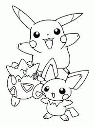 Pikachu Pokemon Coloring Pages Splendry Kids Activities