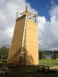 4 sided tower with slab wall