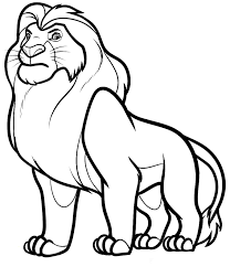 Small Picture Nala Coloring Pages Bad Scar The Lion King Coloring Page Simba