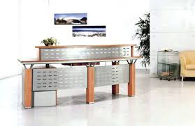 modern wooden office counter desk buy wooden. Cool Solid Wood Office Reception Desk Contemporary Dental Designs Modern Wooden Counter Buy R