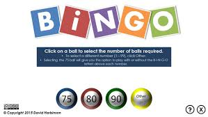 Bingo Ball Generator Here Is A Free Powerpoint Bingo Caller Use The File To