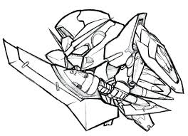 bytes gundam coloring book