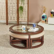 malmo coffee table with 4 nesting