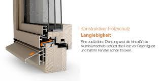 Das Holzaluminium Fenster Allstar Bautiefe 87 Mm Wertbau