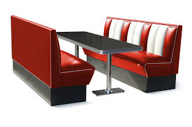Retro Furniture Diner Booth Hollywood Eight Seater Set