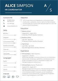 Free Resume Word Templates Modern Resume Templates Free Word ...