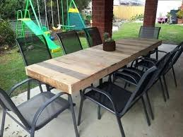 diy wood tables ideas for outdoor