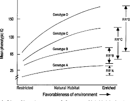 Animal Iq Chart Figure 1 From Norm Of Reaction Definition And