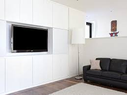 California Closets White Themed Media Center Built-in Entertainment Centers \u0026 Cabinets  