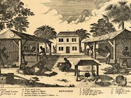 episode the an revolution minute history woodcut engraving of a plantation in the early years of saint domingue