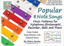 Amazon Com Popular 8 Note Songs Music Patterns For