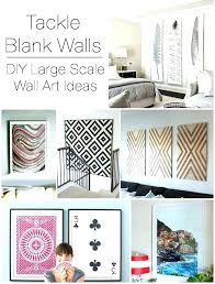 how to decorate big empty wall how to decorate a big wall large scale wall art