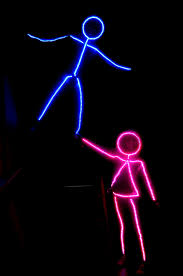 Light Up Stick Figure Costume Uk Led Stick Figure Halloween Costume Stick Figure Halloween