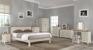 gray and white furniture. Padstow Bedroom - A New Range Of \u0027 Off White Furniturewith Oak Tops\u0027 Into  Us Summer-Autumn 2018 Gray And White Furniture
