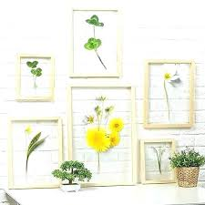 handicraft flowers in cer wall art style home decor hand blown glass plates lamps from lights