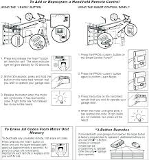 how to reprogram craftsman garage door opener reprogram craftsman garage door opener keypad reset programming my