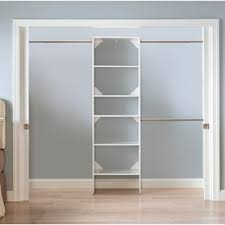Wood closet shelving Bedroom Quickview Lowes Closet Systems Organizers Youll Love Wayfair