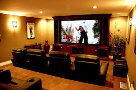 Small Picture Home Movie Theater Decor Ideas Simple Image Of Small Home Theater