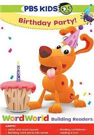 Wordworld Birthday Party 841887023795 Dvd Barnes Noble