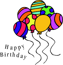 Image result for birthday clip art