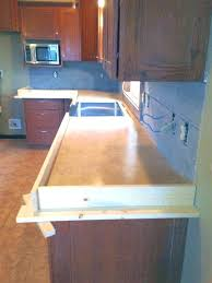 poured in place concrete countertops forms pour place concrete forms wonderful inside in s prepare cast