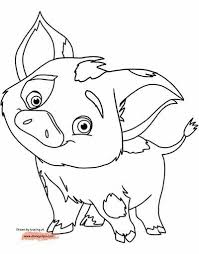 59 Moana Coloring Pages June 2019maui Coloring Pages Too