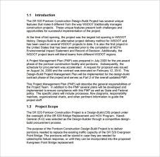 Project Templates Word Project Management Plan Outline 16 Project Management Plan