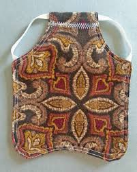 Chicken Saddle Pattern Extraordinary How To Make A Chicken Apron Or Hen Saddle WeAllSew