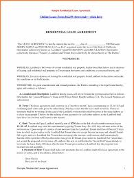 Old Fashioned Residential Property Lease Agreement Template ...