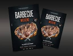 Barbecue Flyers Barbecue Weekend Free Bbq Psd Flyer Template Downloadnow