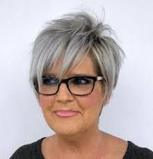 Coiffure Courte Pour Femme 60 Ans Frais Cheveux Gris 70