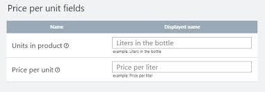 Example Of Unit Price Price Per Unit Ecwid Help Center