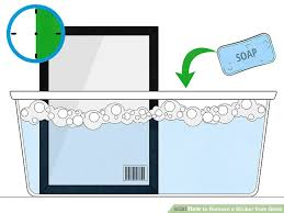 image titled remove a sticker from glass step 3